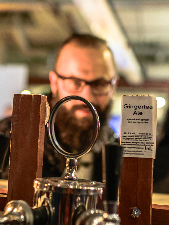 Dedicated beer enthusiasts are curious about the Gingertea Ale by Wenngarns Dryckerier.