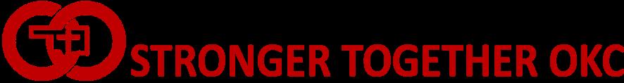 Stronger Together OKC red logo.png