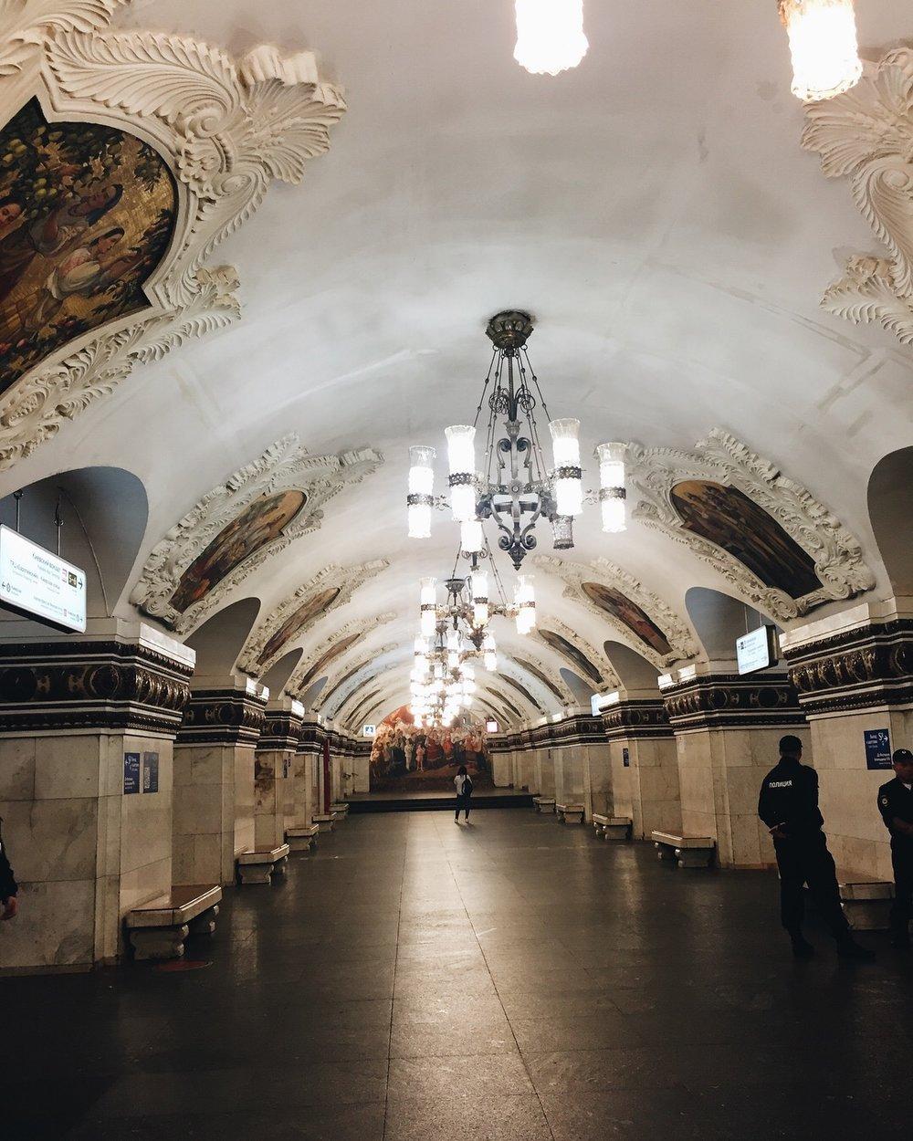 Subway station (suck it, NY)
