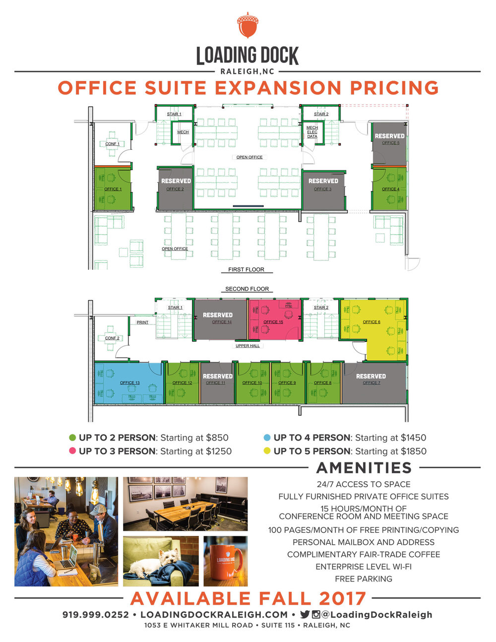 office space in raleigh nc