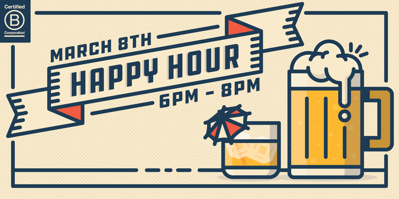 march b corp happy hour