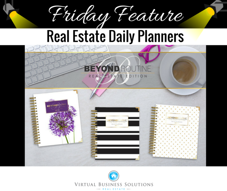 friday feature real estate daily planners vbs real estate real