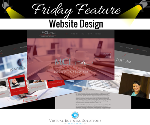 Aug 18 2017 Friday Feature Real Estate Virtual Assistant Client Website Design Graphic Business