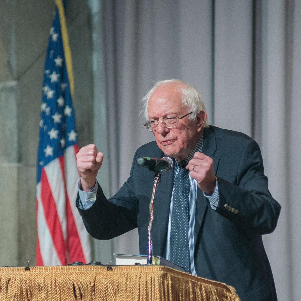 Bernie Sanders  The Strand 121416 003 BW.jpg