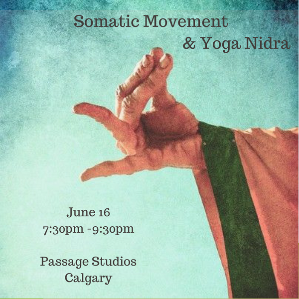Somatics & Nidra - Somatics is a field withinbodywork and movementstudies which emphasizesinternal physicalperception andexperience. When weallow ourselves to drop in-to the physical sensationsof our bodies- the bodybecomes the platform formeditation- and thesensations that arise drawour mind into alertattention. This alertattention- or interoception,prepares the consciousand subconscious mindfor deeper analysis andobservation entered in thepractice of yoga Nidra.Please register here