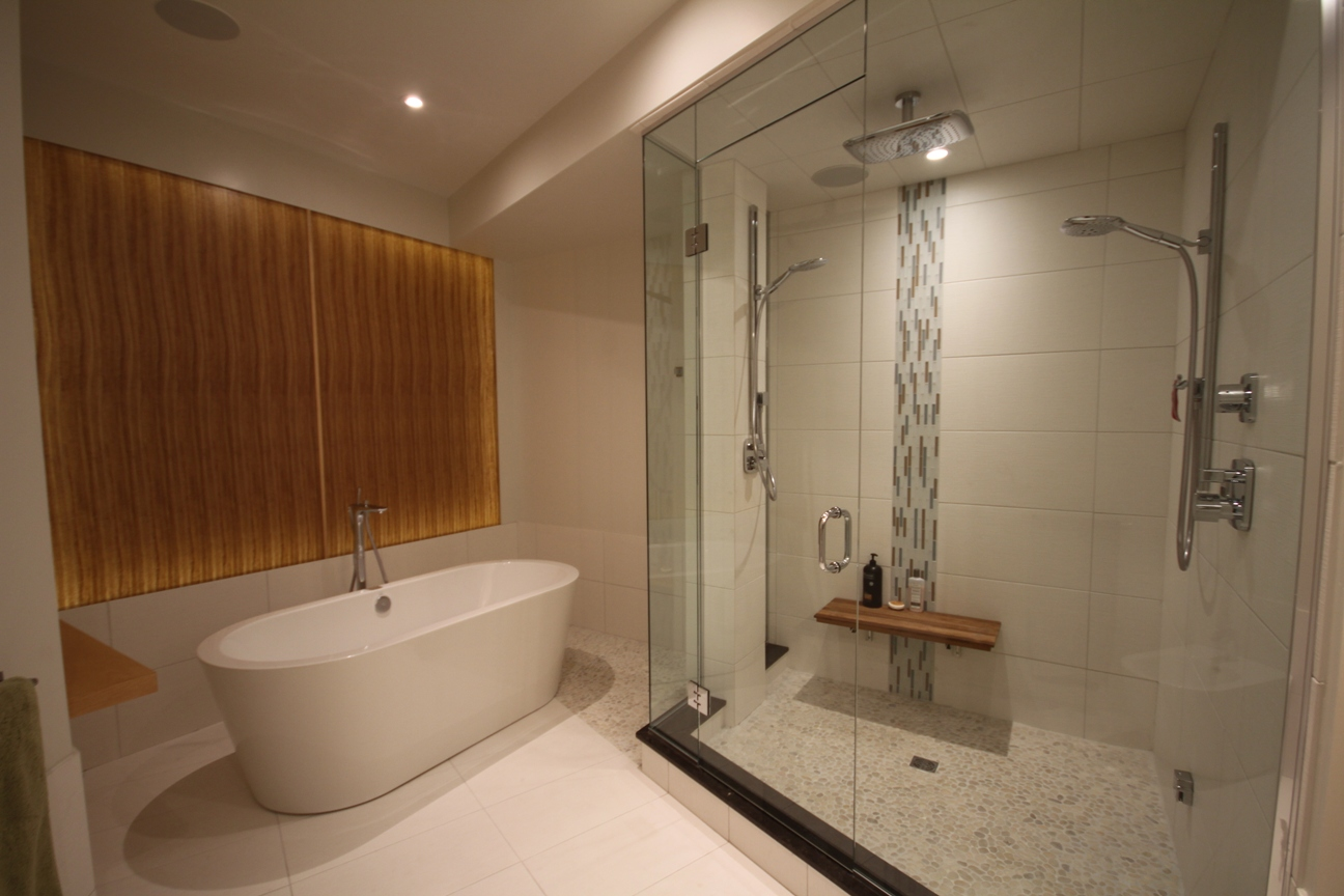 Bathrooms  Custom Showers  Ashbury Custom Homes - Custom showers