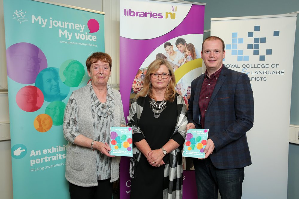 Launch of MJMV at Carrickfergus Library