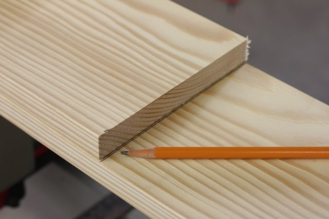 Use it to mark all of the other boards. Mark each board before cutting, don't mark them all at once (your saw blade will take off a bit of wood and by the end your last board will be much shorter than the first)