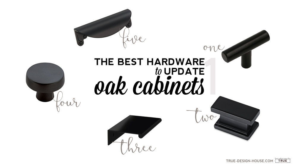 Take A Look At My 2017 List Of Top 20 Suggestions For Updating Oak Cabinets  With Fresh Hardware!