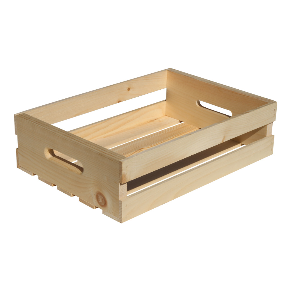 Wooden Crate With Handles Crates Crates And Pallet