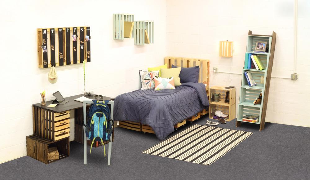 Crates Pallet Dorm Room