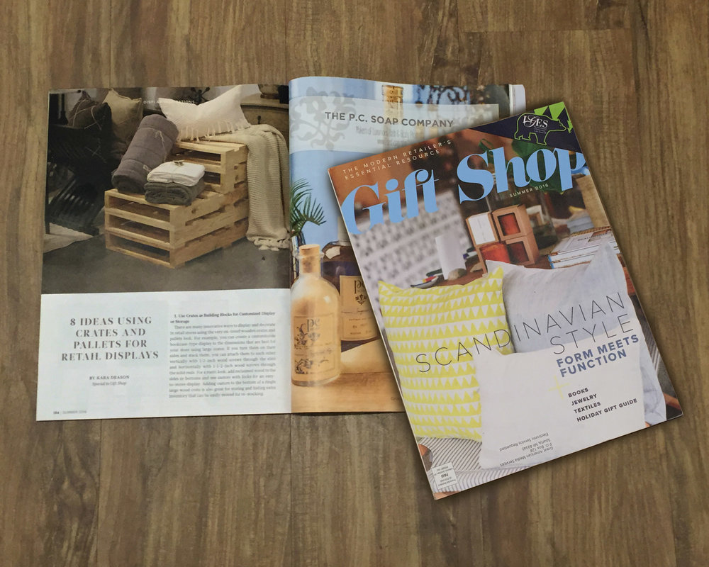Article originally featured in Gift Shop Summer 2016 magazine