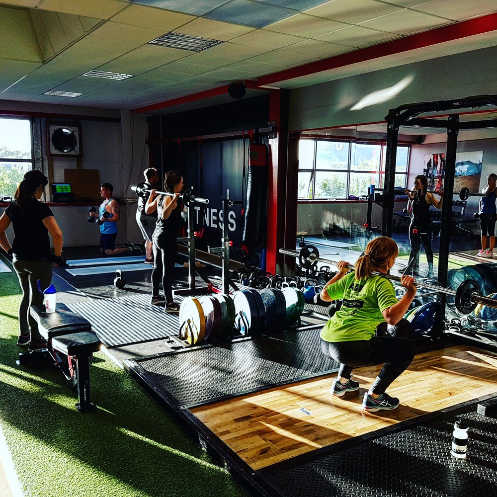 Group training - -- Be part of our training community-- Personalized workout routines-- 18 group workouts each week to choose from