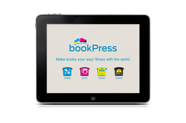 CLIENT: bookPress   PROJECT:iPad UI Design   Go to the App Store