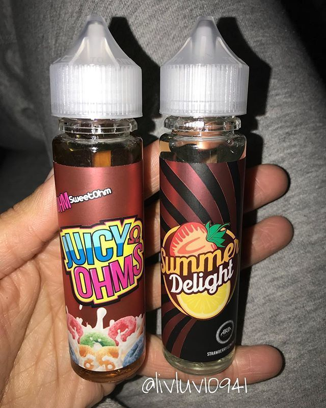 Two classic flavors have never tasted any better. Ohm Sweet Ohm and @ariabuilt's very own Summer Delight have only gotten better with the smoothness of Sage Nicotine Salts.