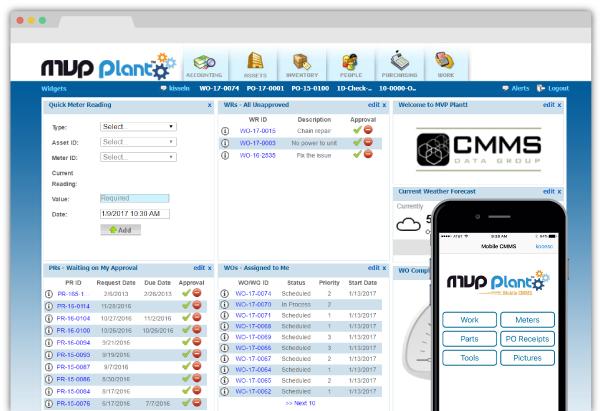 MVP Capture Mobile CMMS Maintenance