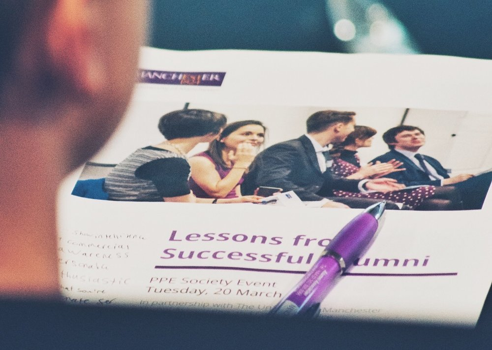'Lessons from Successful Alumni'