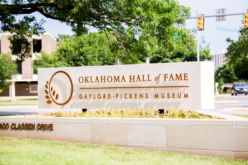 Oklahoma Gaylord Pickens Heritage Museum Wedding Photographer