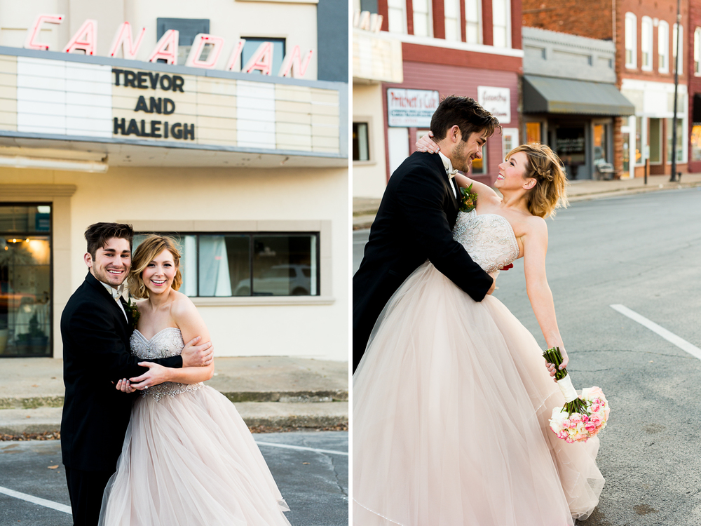 The Grand Canadian Theater OKC Purcell Wedding Venue Ashley Porton Photography downtown purcell.jpg