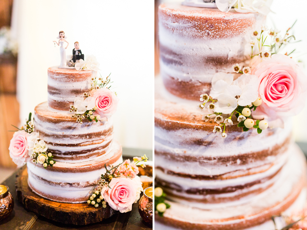 oklahoma wedding photographer pasture at willows ranch broken bow naked cake