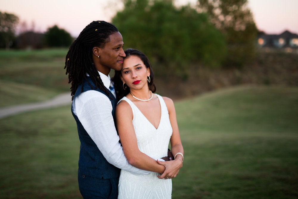 norman backyard wedding okc wedding photographer oklahoma bride and groom portraits