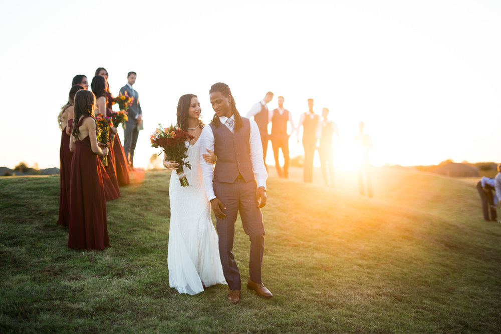 norman backyard wedding okc wedding photographer oklahoma sunset prosessional