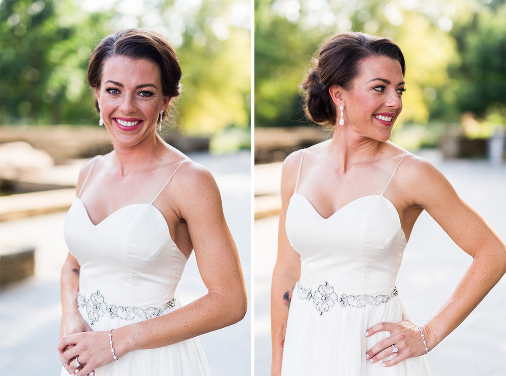 myriad botanical gardens wedding photographer okc oklahoma
