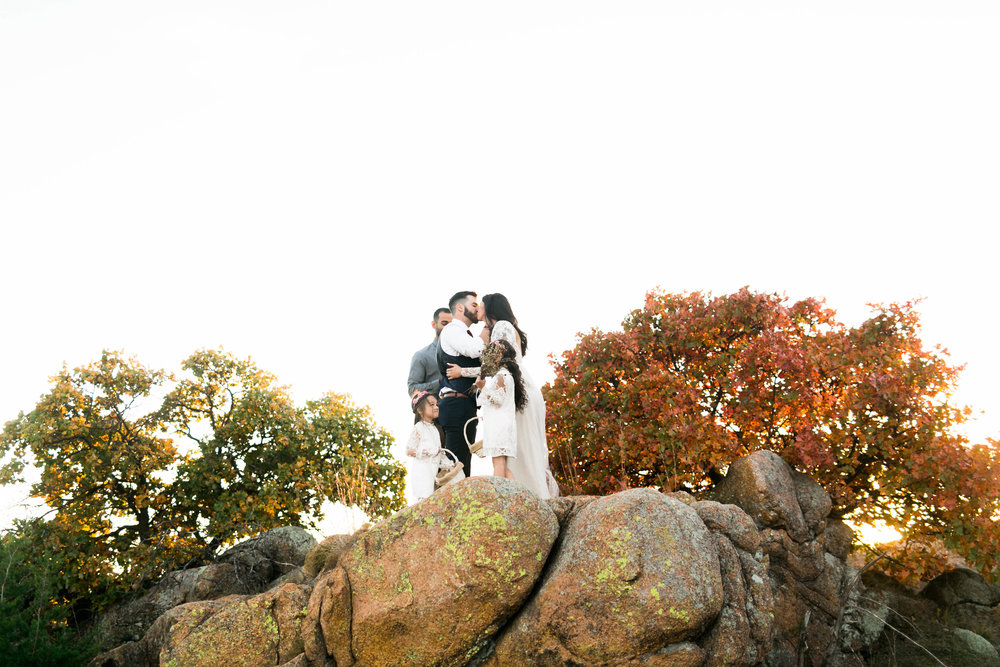 wedding photographer norman oklahoma wichita mountains modern