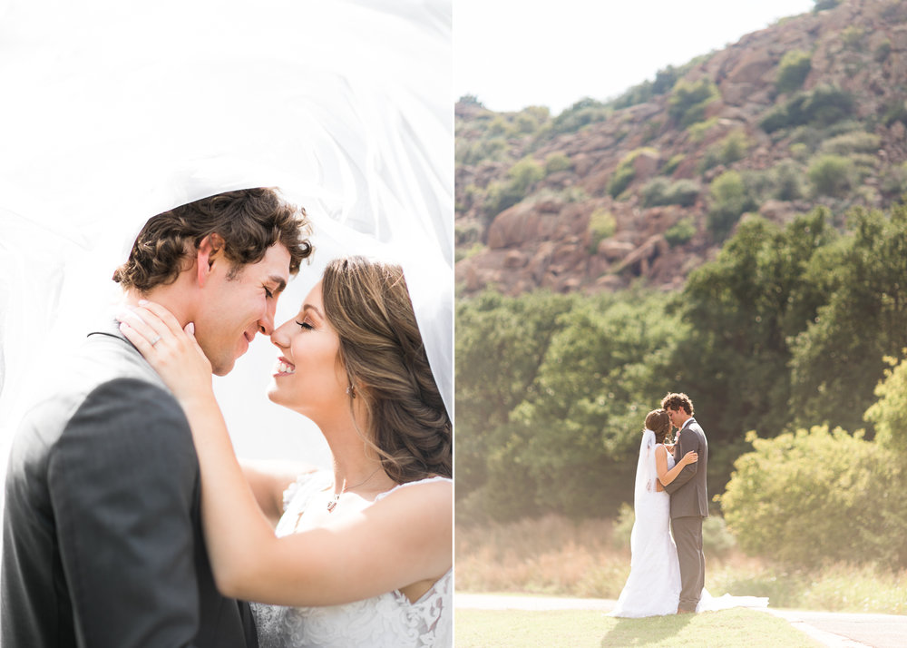 quartz mountain wedding oklahoma wedding photographer smiling bride norman lake beach mountains beach pretty woods