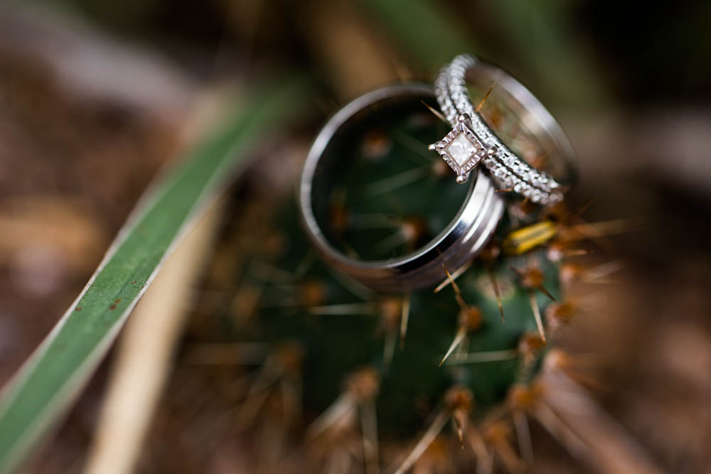 quartz mountain wedding oklahoma wedding photographer ring cactus