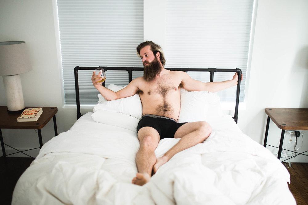 oklahoma boudoir photographer, okc boudoir photography, male boudoir, dudoir, sexy male photos, bathtub photos, bearded guy in bathtub, beard, hairy boy, cigarettes in bathtub, sexy