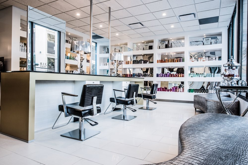 Our newest location which features a full service hair salon and blow bar and also offers advanced education classes for hair stylists in #yeg and Canada.