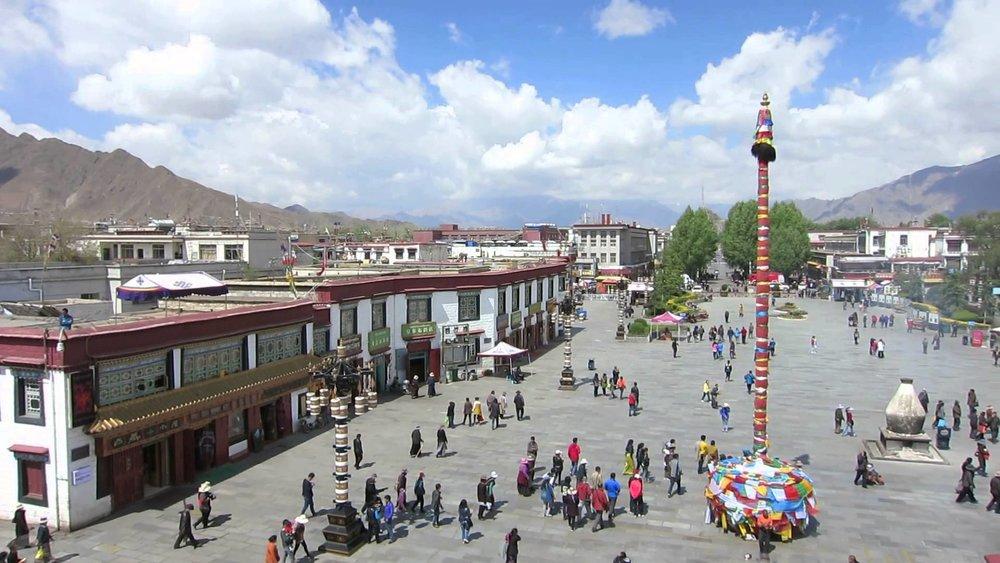 Barkhor Plaza