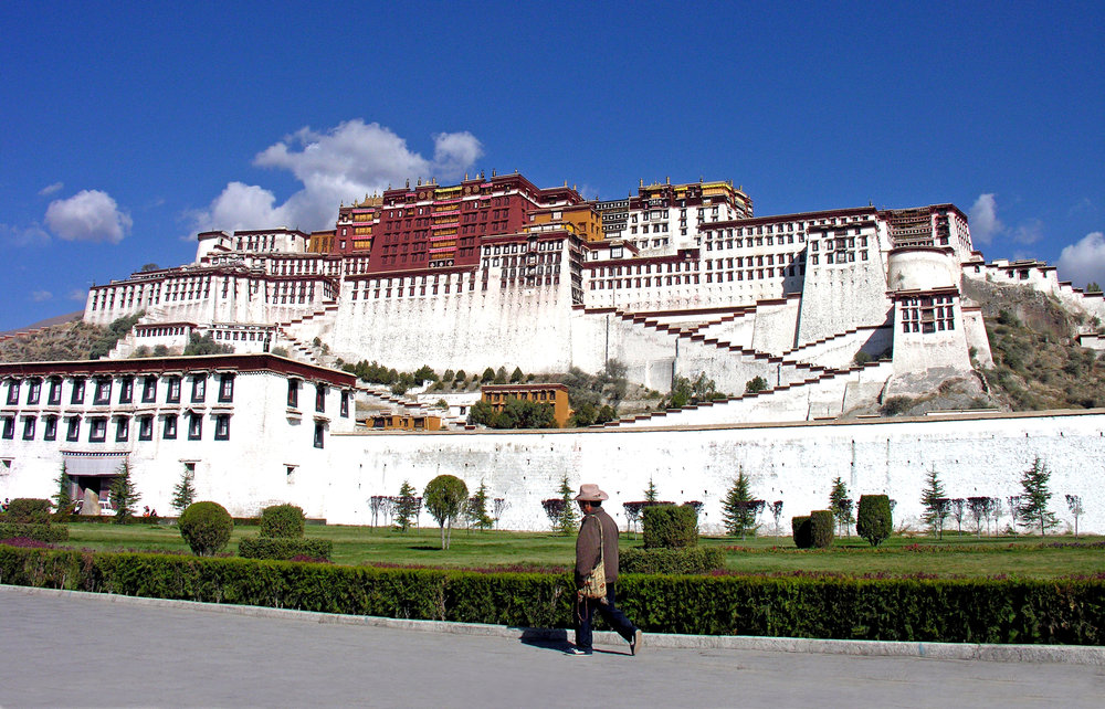 Potala Palace of the Dalai Lamas