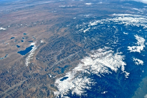 Tibet from Space