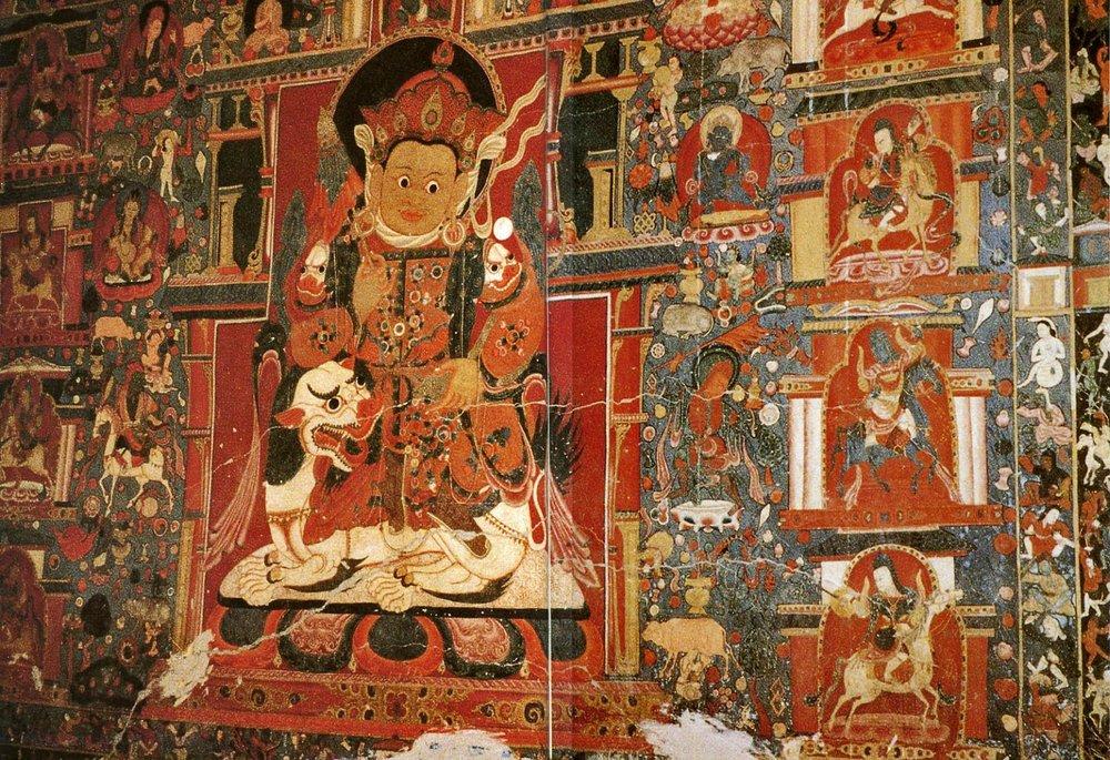 Tibet Der Weisse Tempel von Tholing Namtose.jpg