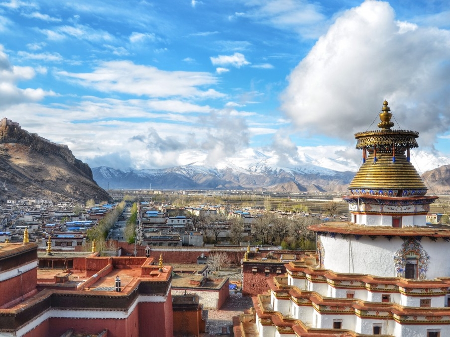 Day 5: Leave Lhasa, Yamdrok Yutso Lake, Gyantse, Shigatse -