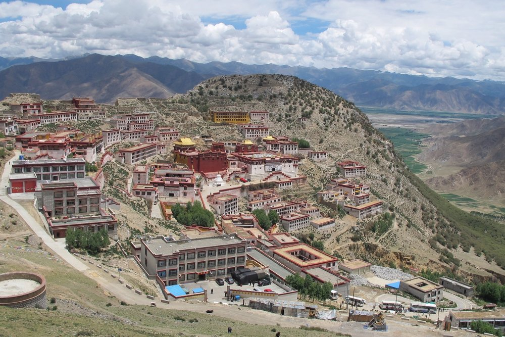 Ganden Monastery Complex