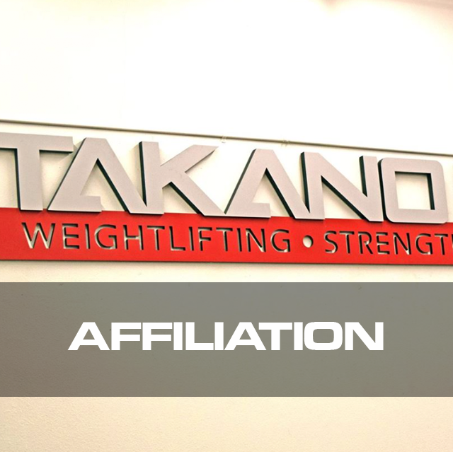 "Soon you will be able to become an official ""Takano Weightlifting"" affiliate which will not only give you the credibility in the community as the top tier weightlifting program/gym but also the tools and education to grow your business to the highest level.  Stay tune for the launch of our affiliation program!"