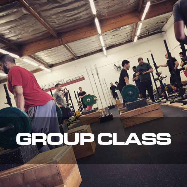 We offer structured group classes with professionally created curriculum to help you learn and develop your technqiue and skill in weightlifting.