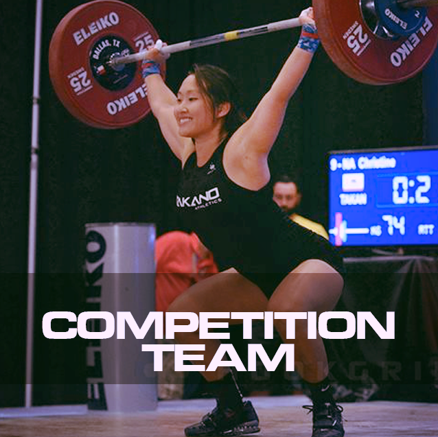 Team Takano Athletics is the place to be if you are looking to become competitive weightlifter or join the best competition team in the country. Each team member is coached by one of the best and well respected Coach - Bob Takano and his coaching staff.
