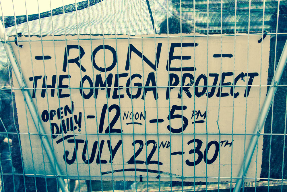 RONE, The Omega Project, July 2017