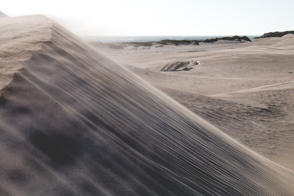 Lancelin Sand Dunes, W.A, March 2018