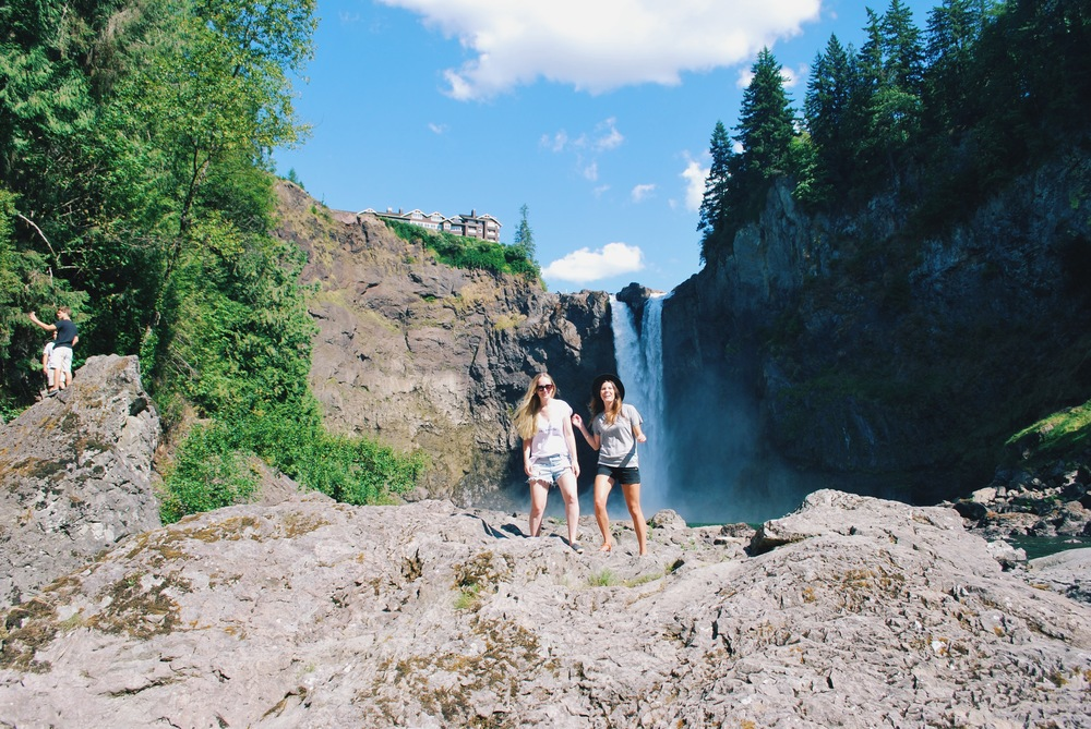 Snoqualmie Falls, Washington.