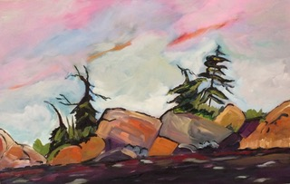 "Don Graves - Landscape artist, Don Graves paints in oil on canvas and board. HIs work expresses in colour, texture and brush strokes the emotions of nature in northern Ontario and the Gatineau region of Quebec. He exhibits in Toronto, Ottawa and Burlington. Website: www.dongraves.org ""Don's landscapes immediately capture and transport the viewer to the varied environments that he so effortlessly captures. His passion for his art form and life shine through his fantastic work."" Rob Cowley, President, Consignor Canadian Fine Art."