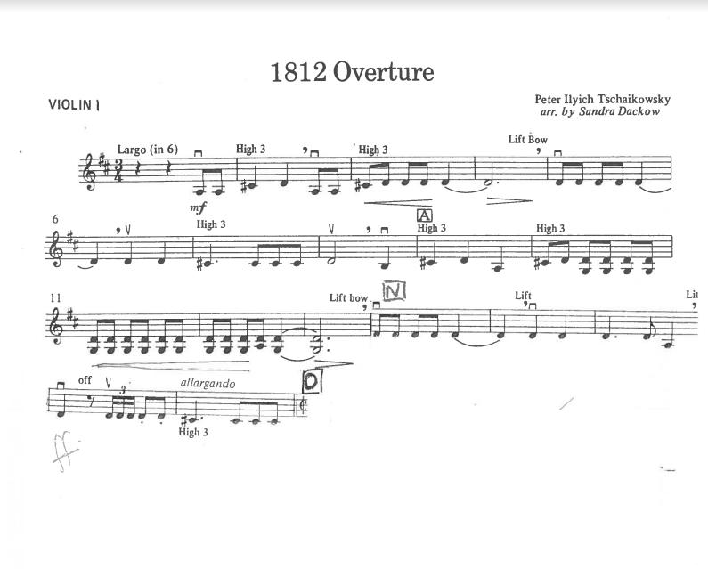 1812 Overture Op  49 - Tchaikovsky, Piotr Illych — Harmony