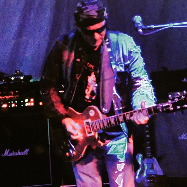 "Ron digs in to ""Getting Restless"". ChileColorado.com #rock #festival #lespaul #musician"