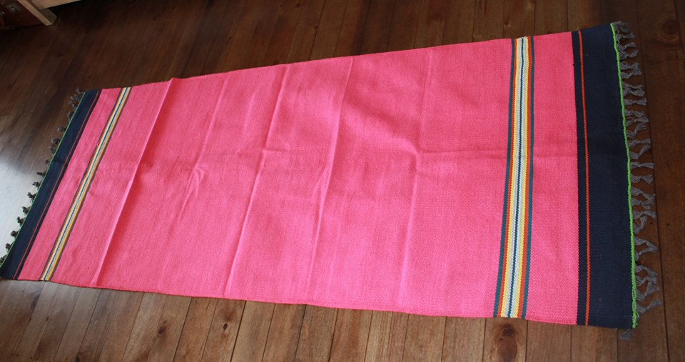 Cotton Mysore Mat - SOLD OUT   Fresh back from Mysore, these cotton mats are great for sweaty hands and feet and for seated poses. Check for colour availability,  NZ$55.00