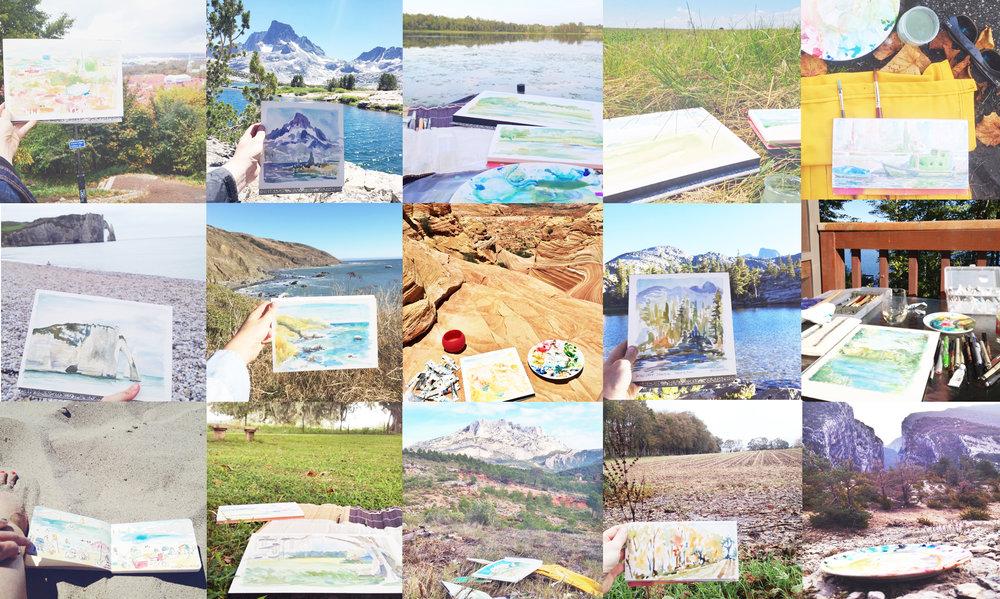 Why Watercolor? 6 reasons you need to paint ASAP — Casa Joshua Tree