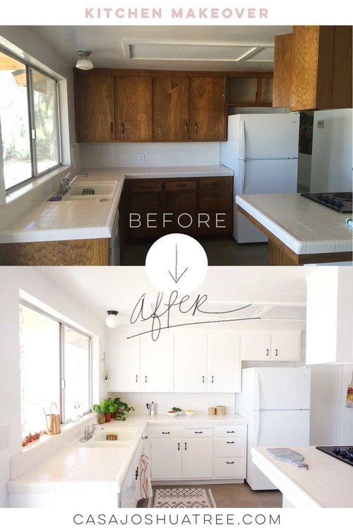 Before and After : the Kitchen Makeover — Casa Joshua Tree